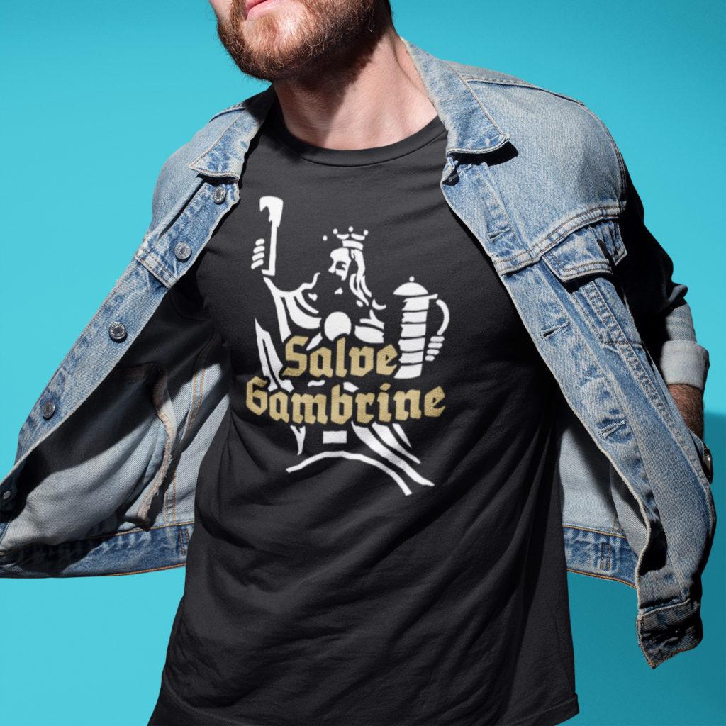 Salve Gambrine T-Shirt Couleurlife Studentenverbindung Korpo