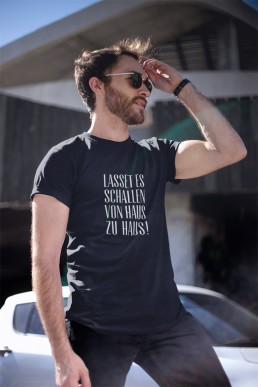 Lasset es schallen T-Shirt Couleurlife Studentenverbindung