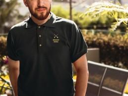 Burschen Heraus Polo Shirt Couleurlife Studentenverbindung