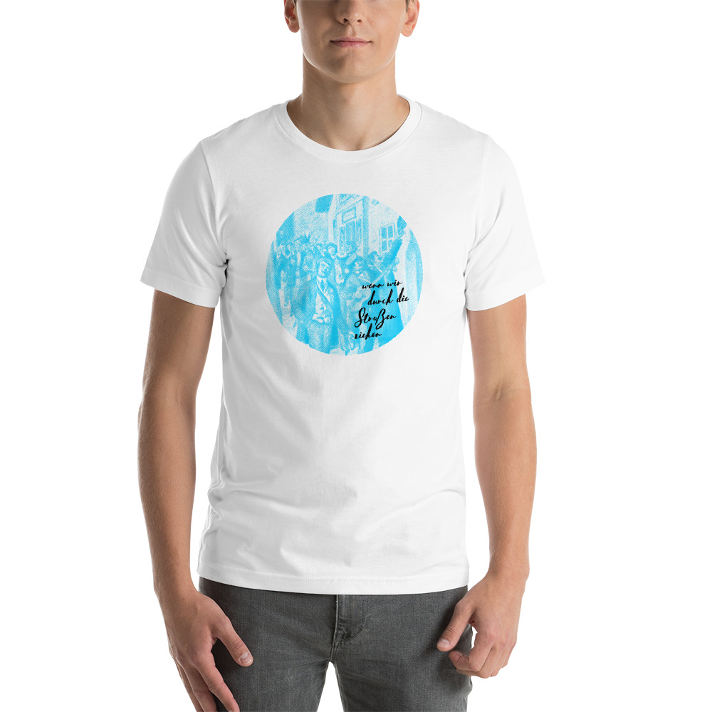 Wenn wir durch die Straßen ziehen T-Shirt Couleurlife Studentenverbindung Korpo
